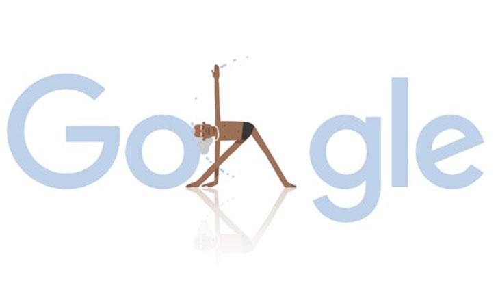 Google homenajea a BKS Iyengar